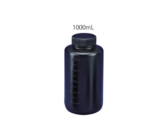 フッ素ガスコーティング容器(遮光タイプ) 1000mL JFWB-1000