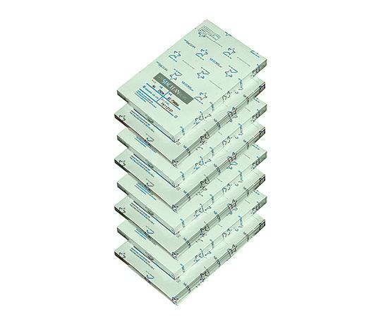 クリーンルーム用無塵紙A5 スタクリン 1ケース(500枚/冊×8冊入) グリーン SC75RG A5