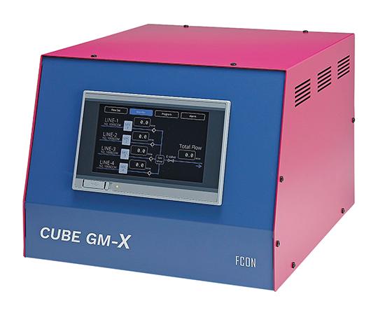 タッチパネル式ガス混合器 CUBE GM-Xシリーズ
