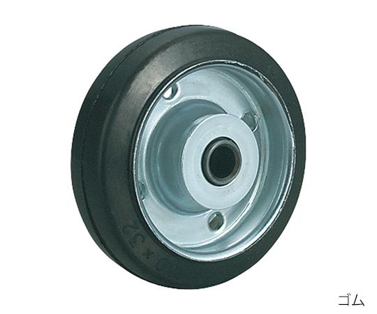 ストッパー付自在キャスター(プレート型・重量物用) WJB-150(R)
