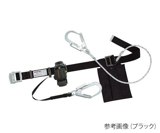 ダブルランヤード安全帯 TITAN ブラック EL504-WDH-BL