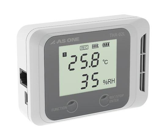 デジタル温湿度ロガー(でかモニ・メモリタイプ) 校正証明書付  THA-02L