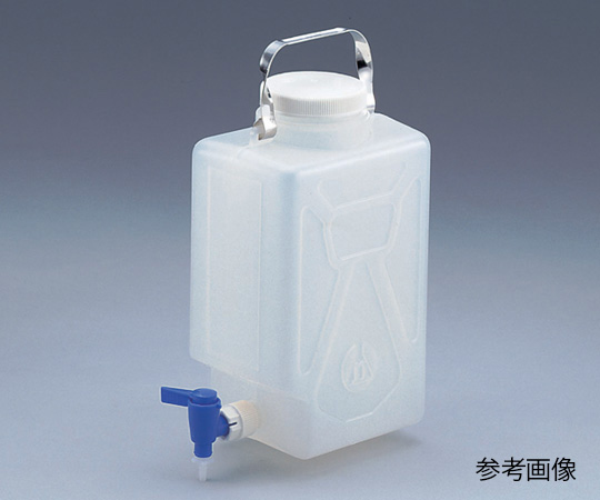 ナルゲン活栓付角型瓶