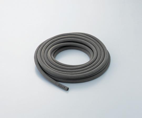 排気用(真空用)ゴム管(布巻きフイニッシュ加工) 天然ゴム 9×21 長さ1m