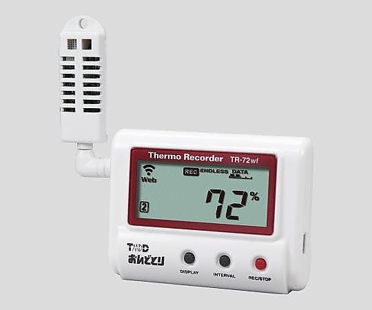 [Discontinued]ONDOTORI Thermo-Hygro Data Logger (Wireless LAN) TR-72wf