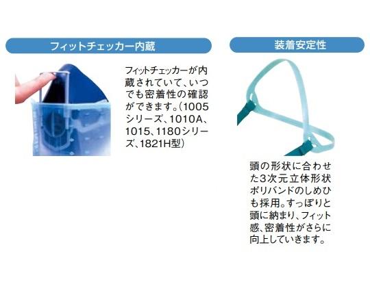 Dustproof Mask Type S 1005R-08