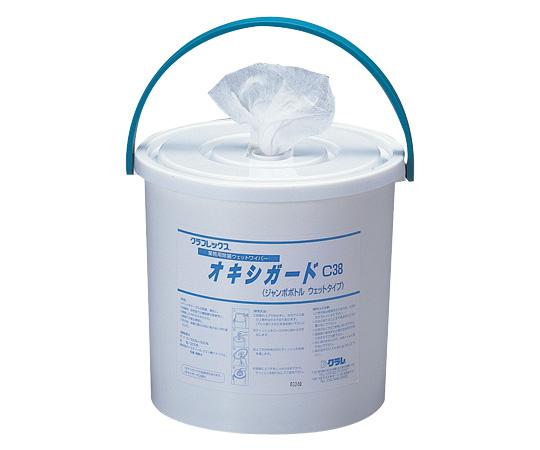 オキシガード 業務用対物除菌ウェットワイパー ジャンボボトルタイプ詰め替え用 300枚入り