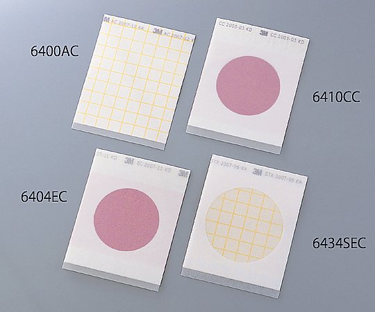 ペトリフィルム(TM)培地 (大腸菌群数測定用/25枚×2袋) 6410CC