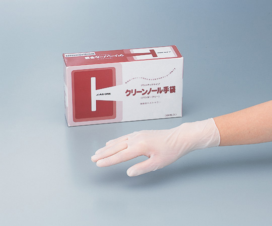 クリーンノール 手袋 PVC パウダーフリー M