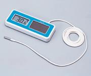 ソーラーデジタル温度計