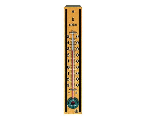 木製寒暖計