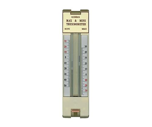 [取扱停止]ワンタッチ最高最低温度計 JC-5540