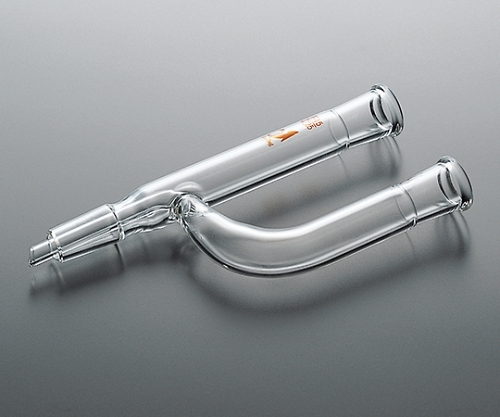 TS連結管(Y字型・中管付) 15/25 <透明> CL0206-01-11