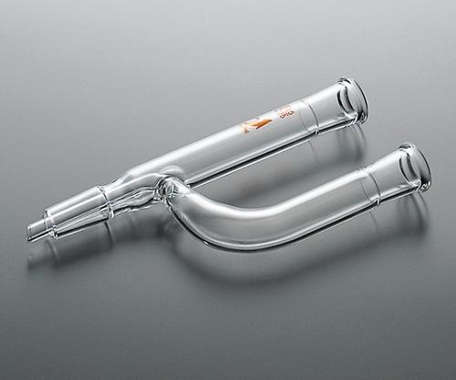 TS連結管(Y字型・中管付) 15/35 <透明> CL0206-02-11