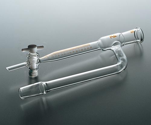 TS水分定量受器(テフロンコック)15ml・24/40<透