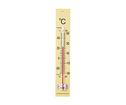 板付温度計(フック箱) -30~50℃