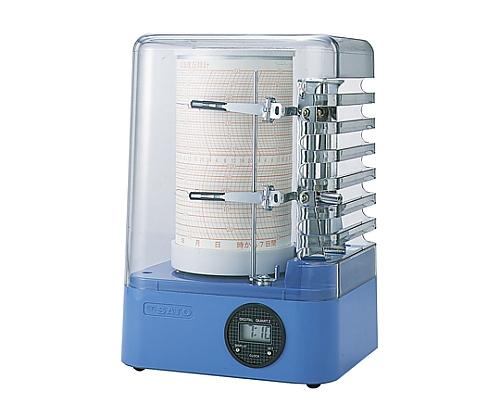 [Discontinued]Thermo-Hygro Recorder Sigma Mini α No700600 Blue 7006-00