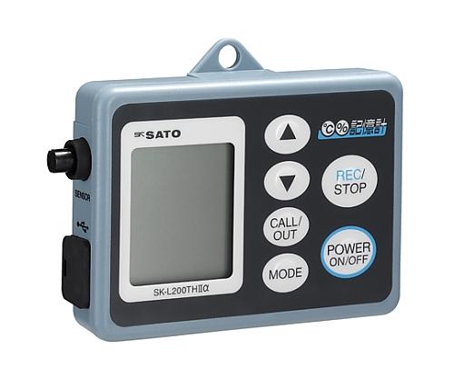 記憶計(R)Ⅱ型・温湿度タイプ SK-L200TH Ⅱα 指示計のみ