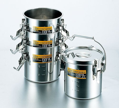 SUS316 テーパーパッキン汁食缶