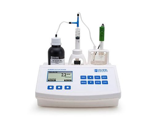 自動滴定器(亜硫酸(ワイン用)) HI 84500