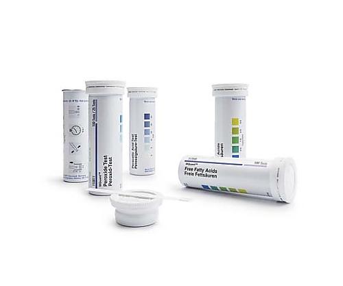 エムクァント(TM) 過酸化物 テスト 測定原理: テストストリップ 1-3-10-30-100mg/L H2O2 MQuant(TM) 110081 100Strips