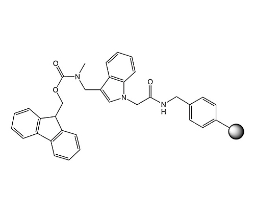 [3-({Methyl-Fmoc-amino}-methyl)-indol-1-yl]-acetyl AM resin 855116 5G