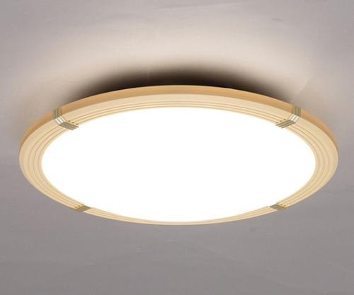 [取扱停止]LEDシーリングライト 8畳調光木枠 3800lm CL8D-WF1-T ブラウン 244392/CL8D-WF1-T