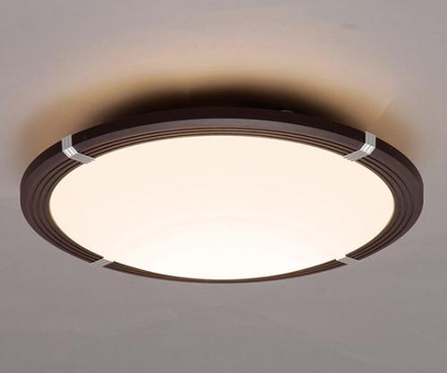 [取扱停止]LEDシーリングライト 調色木枠 ダークブラウン