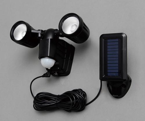 [取扱停止]ソーラー式センサーライト LSL-SBTN-200 566841/LSL-SBTN-200