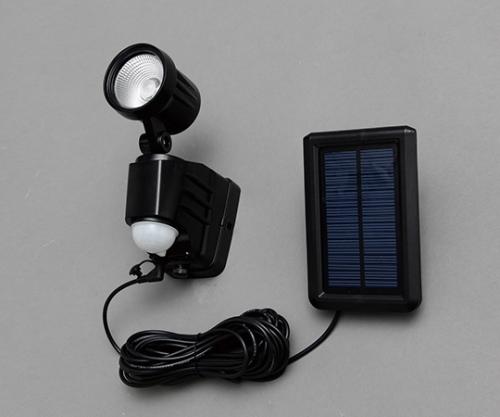 [取扱停止]ソーラー式センサーライト LSL-SBSN-200 566842/LSL-SBSN-200
