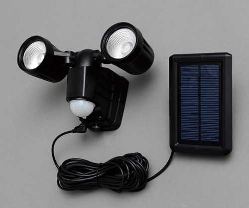 [取扱停止]ソーラー式センサーライト LSL-SBTN-400 566843/LSL-SBTN-400