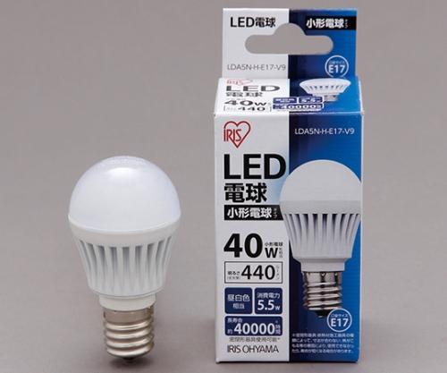 [取扱停止]◎LED電球 小形 昼白色 440lm LDA5N-H-E17-V9 561102/LDA5N-H-E17-V9