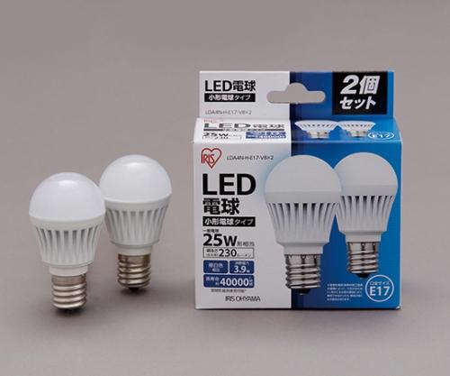 [取扱停止]LED電球2個セット 小形 230lm