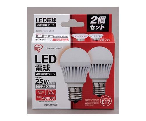 [取扱停止]LED電球2個セット 小形 電球色 230lm LDA2L-H-E17-2T12P 575673/LDA2L-H-E17-2T12P
