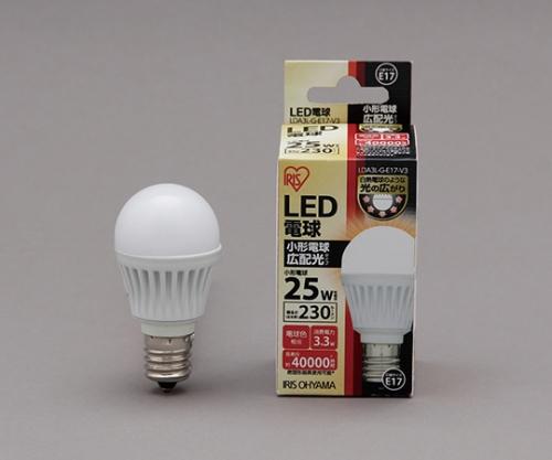 [取扱停止]LED電球 広配光 230lm 電球色 リニューアル LDA2L-G-E17-2T1LED 575679/LDA2L-G-E17-2T1