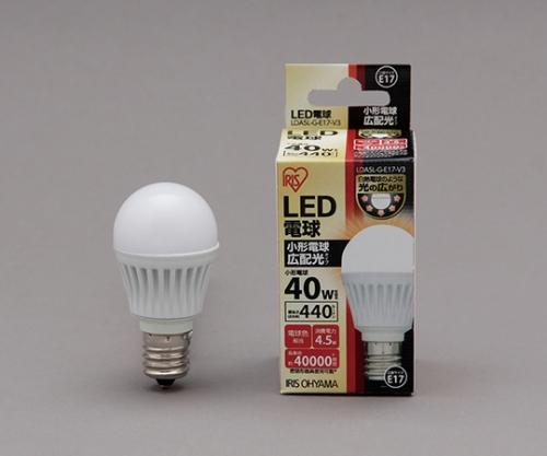 [取扱停止]LED電球 広配光 440lm 電球色 リニューアル LDA4L-G-E17-4T1LED 575683/LDA4L-G-E17-4T1
