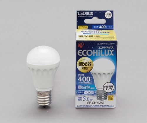 [取扱停止]LED電球 小形 調光 昼白色相当 (400lm) LDA5N-H-E17/D-V1 242644/LDA5N-H-E17/D-V1