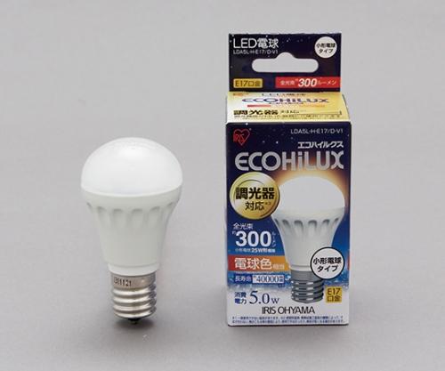 [取扱停止]LED電球 小形 調光 電球色相当 (300lm) LDA5L-H-E17/D-V1 242643/LDA5L-H-E17/D-V1