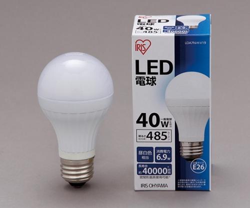 [取扱停止]◎LED電球 昼白色 485lm LDA7N-H-V19 561092/LDA7N-H-V19