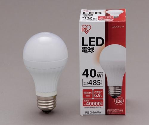 [取扱停止]◎LED電球 電球色 485lm LDA7L-H-V19 561093/LDA7L-H-V19