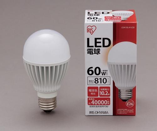 [取扱停止]◎LED電球 電球色 810lm LDA10L-H-V20 561095/LDA10L-H-V20