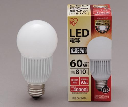 [取扱停止]◎LED電球 広配光 電球色 810lm LDA10L-G-V7 561099/LDA10L-G-V7