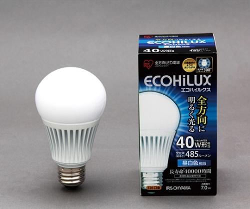 [取扱停止]LED電球 全配光 昼白色 485lm  LDA7N-G/W-V1  566818/LDA7N-G/W-V1