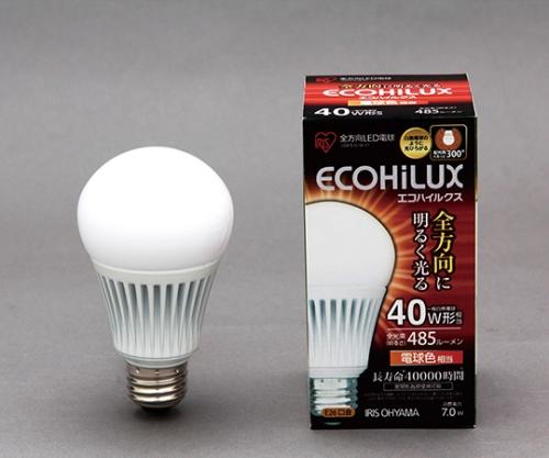 [取扱停止]LED電球 全配光 電球色 485lm  LDA7L-G/W-V1 566819/LDA7L-G/W-V1