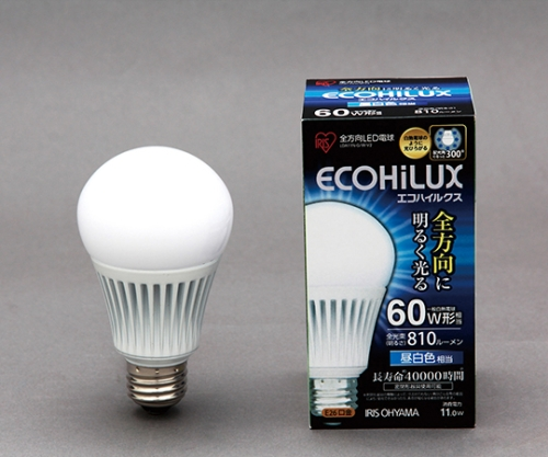 [取扱停止]LED電球 全配光 昼白色 810lm  LDA11N-G/W-V2 566820/LDA11N-G/W-V2