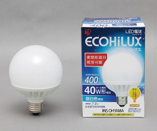 [取扱停止]LEDボール球 40W 昼白色 400lm LDG7N-G-V2 566436/LDG7N-G-V2