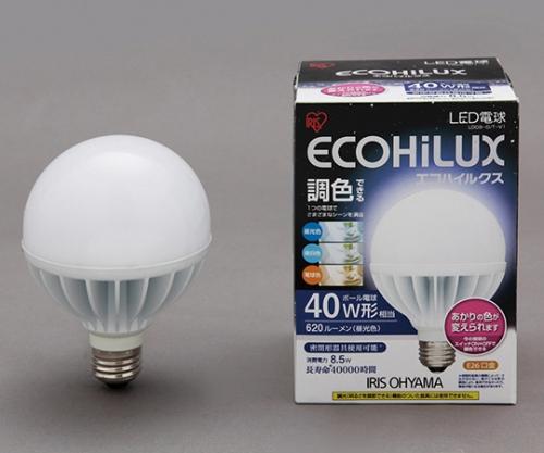 [取扱停止]LEDボール球 40W 調色3色切替  LDG9-G/T-V1 566816/LDG9-G/T-V1