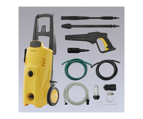 [取扱停止]高圧洗浄機+吸水ホースセット FIN-801E イエロー 558946/FIN-801E