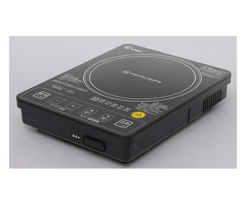 [取扱停止]ガラストップIHクッキングヒーター 音声タイプ EIH10V-B ブラック 560884/EIH10V-B