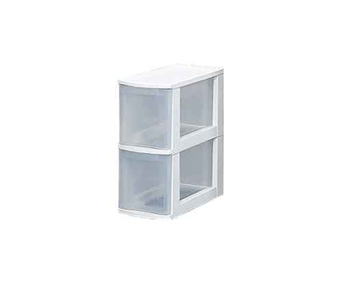 [取扱停止]キッチンチェスト 20 ホワイト/クリア 223200/20